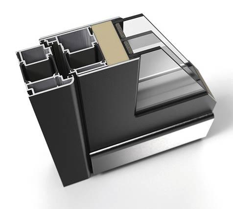 Radico, abgerundeter Standardrahmen 85 mm